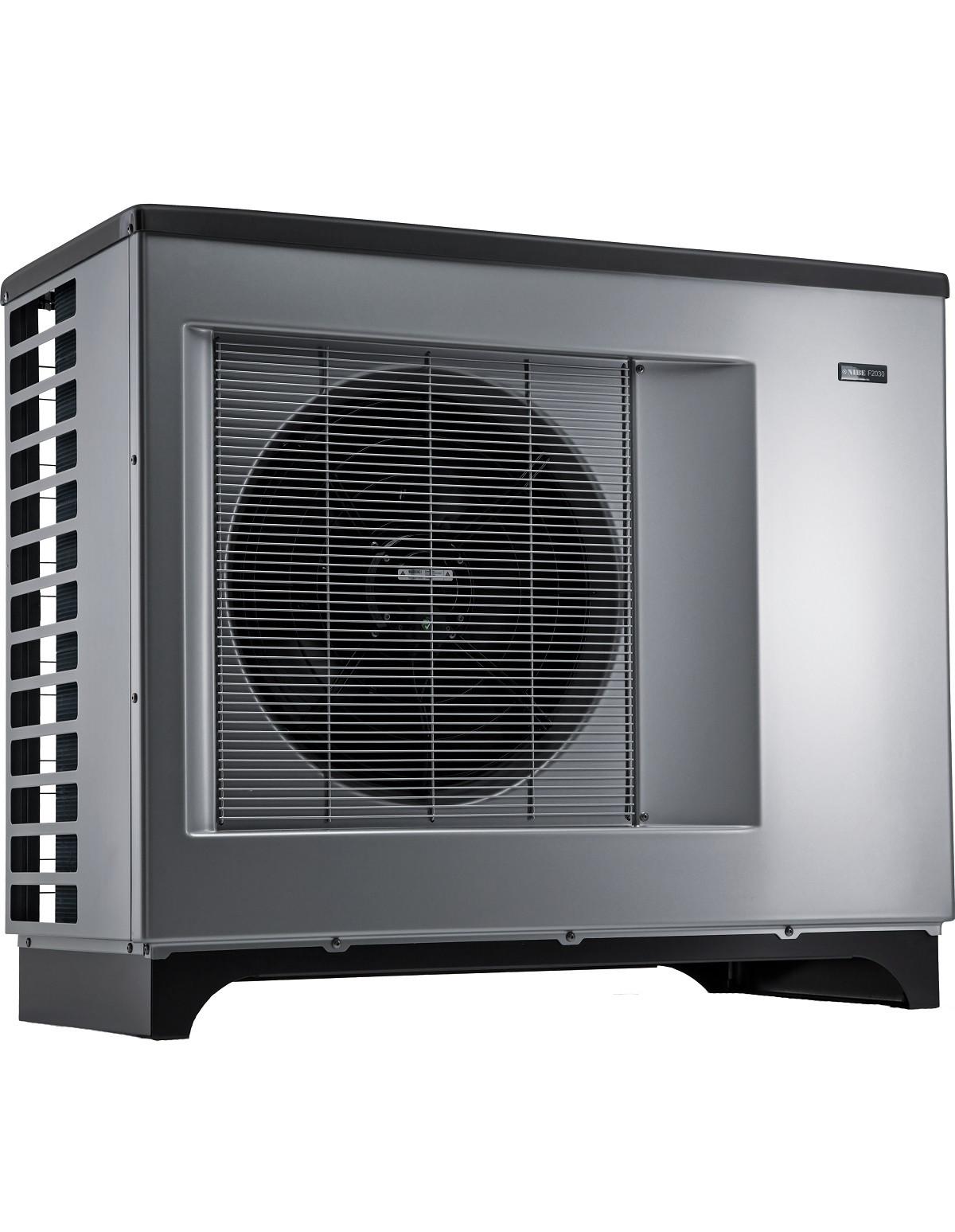 NIBE F2030 - тепловий насос повітря - вода